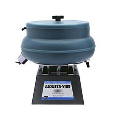 This Raytech-quality AV-25SS finishing system provides the capacity and features you need for effective, versatile mass finishing of jewelry and jewelry components. This vibratory tumbler is specially designed to accommodate steel shot media and is ideal for heavy-duty deburring and polishing, for de-scaling castings, and for reducing edge radius on sharp-edged metal parts. Designed with the Raytech Adjusta-Vibe feature, the adjustable-amplitude base allows you to control the force of the… Vibratory Tumbler, Rock Tumbling, Rio Grande Jewelry, Jewelry Making Supplies, It Cast, Base, Steel, Products, Steel Grades