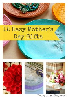 12 Easy and Beautiful DIY Mother's Day Gifts