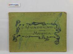 J 5444 VECCHIO QUADERNO PER MUSICA - http://www.okaffarefattofrascati.com/?product=j-5444-vecchio-quaderno-per-musica