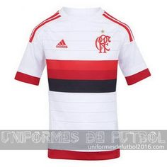 Jersey visitante para uniforme del Tailandia Flamengo 2016  e6b56bd15eca6