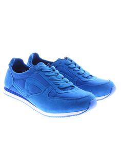 Ghete albastre pentru dame marca Cropp Town de la Shopamor Adidas, Sneakers, Clothing, Blue, Shoes, Women, Fashion, Tennis, Outfits