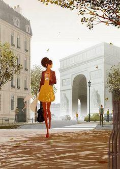 """""""en ATENEO"""": Las mujeres en Paris - por Matthieu Forichon"""