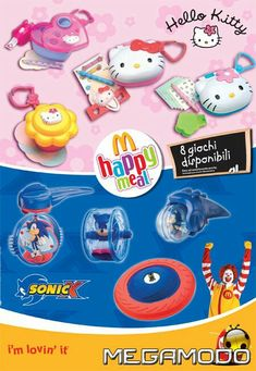 Mcdonalds Toys, Sanrio, Memes, Hello Kitty, Gadgets, Disney, Happy, Random, Food