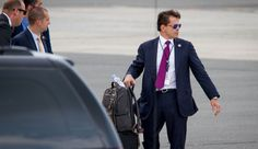 Scaramucci Gone, 'Escorted Off White House Grounds' — Spicer Eyed For Scaramucci's Position? Anthony Scaramucci, Off White, Breast, Suit Jacket, Positivity, Suits, Eyes, Jackets, House