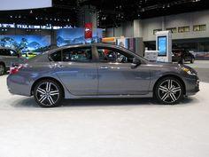 2016 Honda Accord Sport sedan - side view
