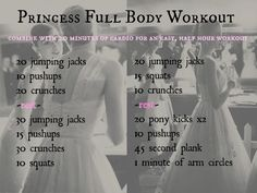 Easy and Quick Full Body Workout: Princess Method (no equipment required)