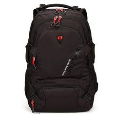0ca9eb8c7d69e 28L Men Large Capacity Outdoor Travel Polyester Casual Student Laptop  Backpack