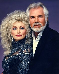 Kenny and Dolly.