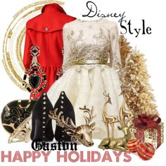 """Disney Style : Gaston"" by missm26 on Polyvore"