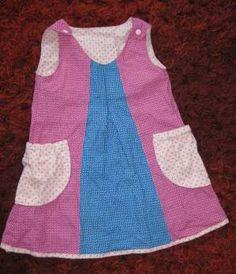 Selbermacher Kleidchen mit Taschen und Kellerfalte