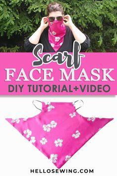 Sewing Patterns Free, Free Sewing, Free Pattern, Pattern Sewing, Dog Pattern, Crochet Patterns, Easy Face Masks, Diy Face Mask, Sewing Crafts