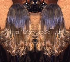 Ombré from today #redkenready #redkenobsessed #redkencolor #styleyourstory