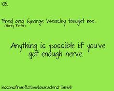 Fred & George...