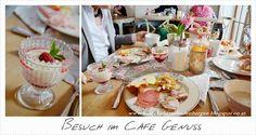 Ein Dekoherzal in den Bergen: BESUCH IM CAFE GENUSS Bergen, Table Settings, Table Top Decorations, Place Settings, Tablescapes
