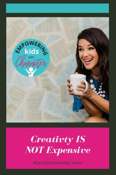 Creativity Doesn't Have to Be Expensive! See how to explore the creativity with kids without breaking the bank! Cheap and free creative activities for kids can be fun! Creative Activities For Kids, Crafts For Kids, Preschool Lessons, Creative Outlet, Character Development, Nursery Art, Parenting Hacks, Creativity, Advice