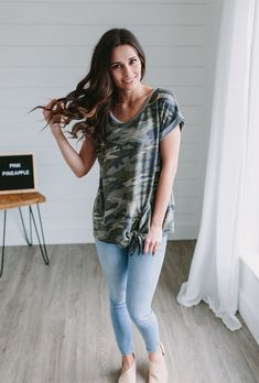 23191965 10 Best Camo Top images in 2017 | Casual styles, Camo shirts, Casual ...