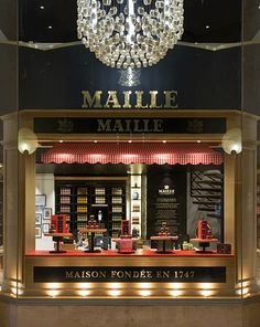 Say boujour to our newest Maille boutique in the heart of the Carrousel du Louvre in Paris, France! #MyMaille