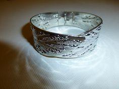 Armband silverblad www.sparklingthings.se
