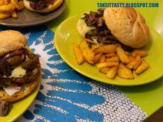 Pyszne domowe #hamburgery z dodatkami :) Delicious homemade burgers with some additives :)