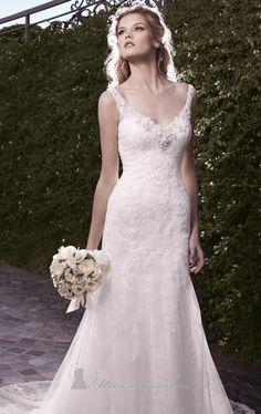 Casablanca Bridal 2135 by Casablanca Bridal  I absolutely love this dress!!