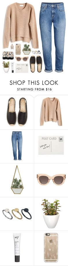 """""""lipstick stains"""" by martosaur ❤ liked on Polyvore featuring Soludos, H&M, CÉLINE, Just Acces, Pomax, Casetify and Zoya"""