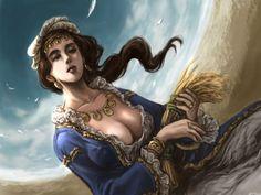 Deusa grega Deméter, em God of War. Filha de Cronos e Réia, era a deusa das plantas, da terra cultivada, das colheitas e ... Visitar página  Visualizar imagem