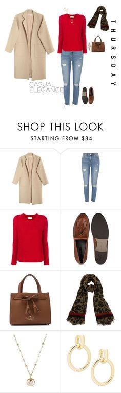 """Casual Thursday"" by jenily ❤ liked on Polyvore featuring Mara Hoffman, River Island, Antonia Zander, Kate Spade, Franco Ferrari, Hirotaka, Saks Fifth Avenue and Marc Jacobs"