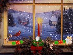 Karácsonyi Ablakok gif - Képtár - G-Portál