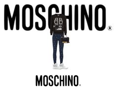 """moschino"" by marie-k-love on Polyvore featuring mode, Moschino, Love Moschino en Boutique Moschino"