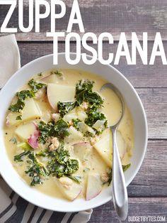 Zuppa Toscana - BudgetBytes.com