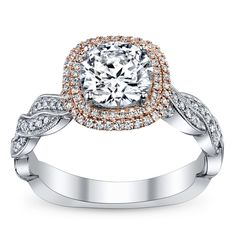 I love the mix of metals on this ring and the shape is lovely