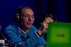 Días de #Radio 2014 en #EscuelaCES con #HilarioPino