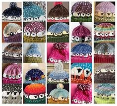 Punkin's Patch: Yarn Along - With A Giveaway Double Knitting, Loom Knitting, Free Knitting, Baby Knitting, Fair Isle Knitting Patterns, Crotchet Patterns, Knitted Headband, Knitted Hats, Crochet Hats