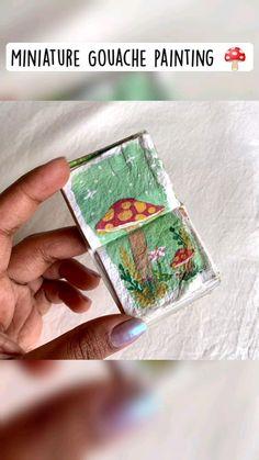 Watercolor Techniques, Painting Techniques, Watercolor Landscape, Watercolor Flowers, Gouache Painting, Watercolor Paintings, Bullet Journal Art, Diy Canvas Art, Baby Art