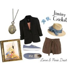 """Jiminy Cricket"" by loveandpixiedust on Polyvore"