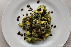 Broccoli med mayonæsten