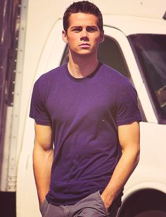 Ever see anyone make a plain t-shirt look that goddamn good?  No i thought not... Dylan O'Brien