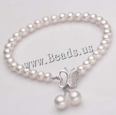 Freshwater #Cultured #Pearl #Bracelet,  jewelry #making  http://www.beads.us/product/Freshwater-Cultured-Pearl-Bracelet_p152867.html?Utm_rid=219754