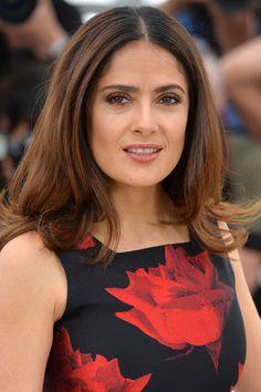 Salma Hayek - Cannes 2015 beauty round up   Harper's Bazaar