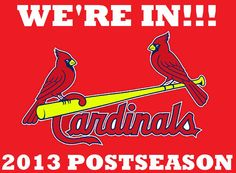 CARDS ARE HEADED TO THE POSTSEASON ONCE AGAIN... :)