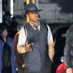 Gangster Squad. 40's inspired suits and hats.