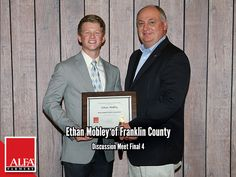 Discussion Meet Finalist Ethan Mobley of Franklin County Young Farmers, Franklin County, Create Awareness, Alabama, Leadership, Meet