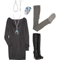 A little bit 80's, created by #michlee on polyvore.com
