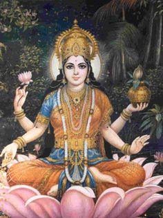 Lakshmi, the Hindu Goddess of Prosperity