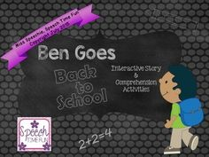 Ben Goes Back To Sch
