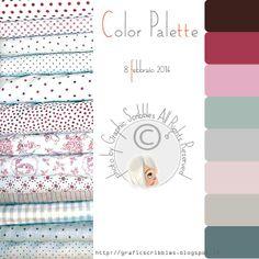 Color palette of 7 febberaio 2014 http://graficscribbles.blogspot.it/2014/02/Color-palette.html