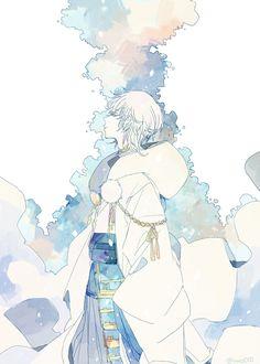 Ichigo is my home, and I will acknowledge no one else. Touken Ranbu, Manga Anime, Anime Art, Hot Anime Guys, Anime Boys, Bishounen, Historical Art, Anime Life, Anime Style