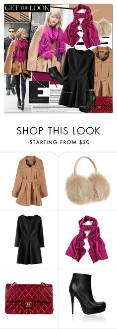 """Get the look"" by barbarela11 ❤ liked on Polyvore featuring Boohoo, Ted Baker, Chanel, Rick Owens, GetTheLook, polyvoreeditorial and polyvoretopics"