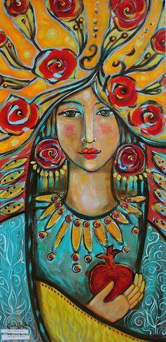 shiloh sophia mccloud art images | ... Shiloh Sophia McCloud - Fire Of The Spirit Fine Art Prints and Posters