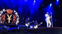 "#VintageTrouble playing #The Thrill is Gone"" as a tribute to the late BB King"